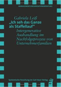 Gabriela Leiss Staffellauf Buch